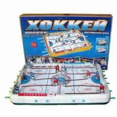 Хоккей, настольная игра, 74,5 х 46,5 х 9,5 см, ОМ-48200
