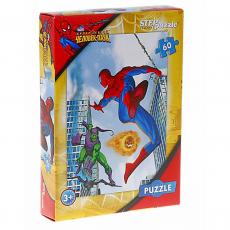 Человек-паук пазлы 60 элементов