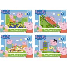 Peppa Pig. Мини-пазл 54А