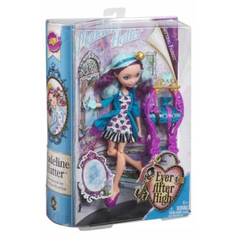 """Кукла Ever After High  """"Долго и Счастливо"""" Становиться прекраснее - Мэделин Хэттер (Madeline Hatter) в упаковке"""