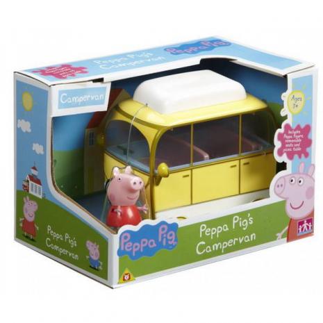 Веселый кемпинг, игровой набор (автомобиль-фургон, 1 фигурка)