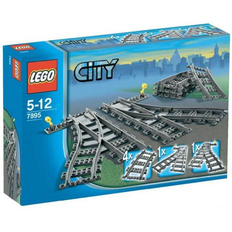 Железнодорожные пути Лего Город