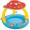"Бассейн надувной ""Mushroom Baby Pool"" c навесом, 1-3 года, 102х89см, int57407NP"
