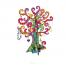 Дерево с драгоценностями. Набор для творчества Dohvinci.